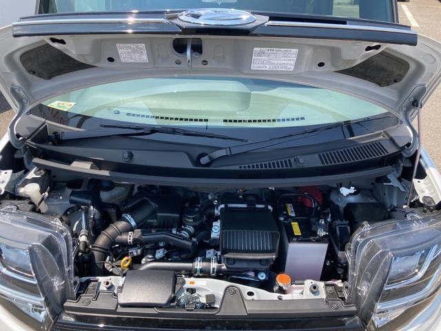 カスタムRSセレクション ターボ車 両側パワースライドドア シートヒーター パノラマモニター対応(17枚目)