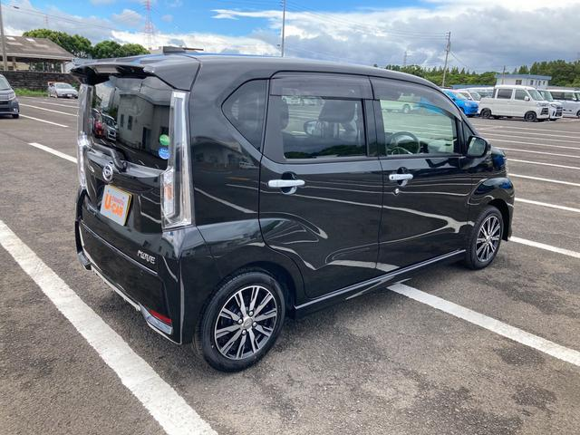 カスタム XリミテッドII SAIII 運転席シートヒーター パノラマモニター対応 LEDヘッドライト 純正14インチアルミホイール(9枚目)