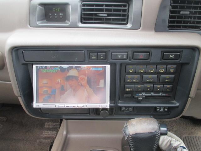 トヨタ ランドクルーザー80 VXリミテッド リフトUP ナビ 地デジ サンルーフ ETC