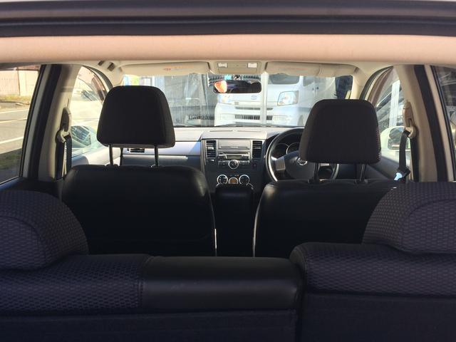 日産 ティーダ 15M ワンオーナー車 ETC ハーフレーザー