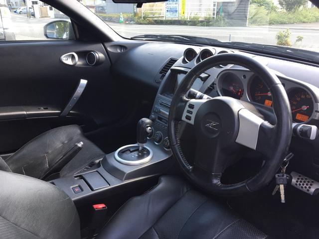 日産 フェアレディZ バージョンT マルチナビ スマートキー 車高調