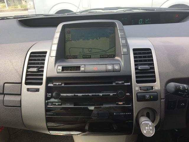 トヨタ プリウス S 10thアニバーサリーエディション 純正ナビ地デジ