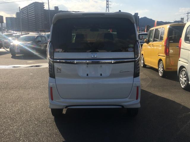 ホンダ N BOXカスタム G・Lホンダセンシング 届出済未使用車 盗難防止 禁煙車
