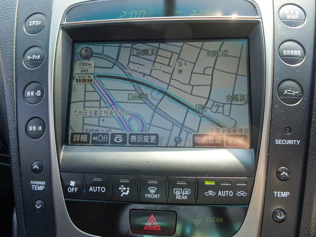 レクサス GS GS350 サンルーフ 純HDDナビ 車高調 19AW