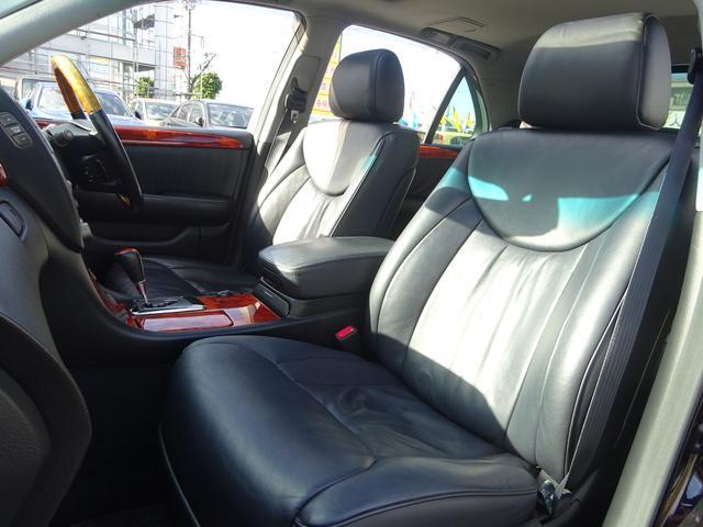 トヨタ セルシオ eR仕様 サンルーフ 黒革シート 純正ナビ バックモニター