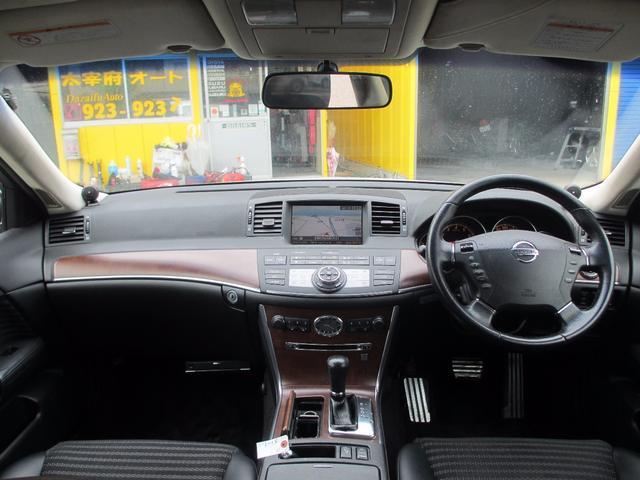 日産 フーガ 350GTスポーツパッケージ サイド・バックカメラ アルミ