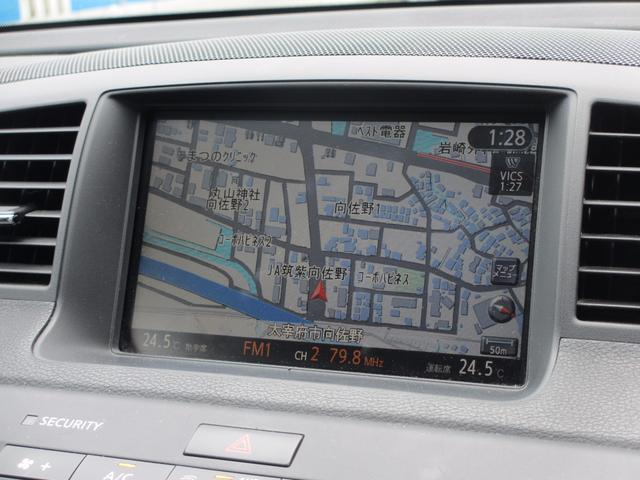 日産 フーガ 250GT バック・サイドカメラ ナビ ETC DVD