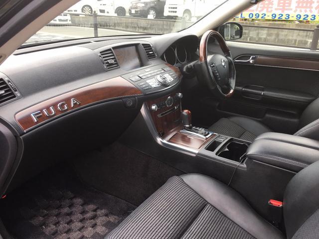 日産 フーガ 250GT 車高調 19インチアルミ ヘッドライト改