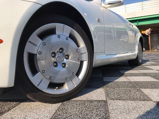 430SCV ベージュ革 ETC ナビ シートヒーター(6枚目)