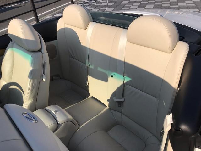430SCV ベージュ革 ETC ナビ シートヒーター(15枚目)