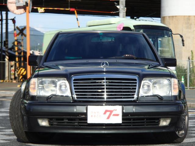 E500 サンルーフ 革シート ウッドコンビハンドル ETC(2枚目)