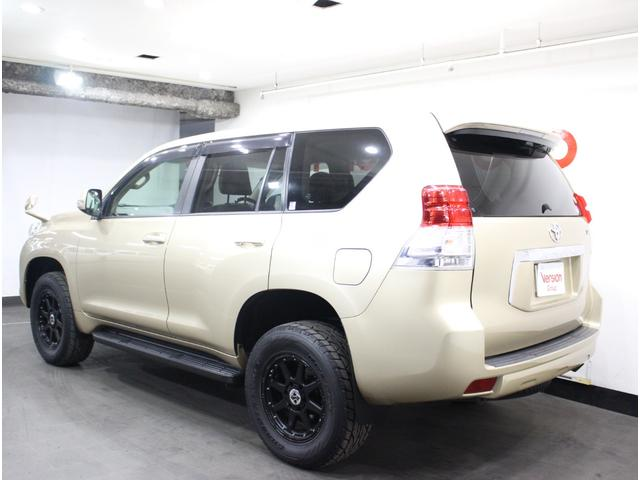 トヨタ ランドクルーザープラド TX ワンオーナー 社外17インチアルミ 全国3年保証付