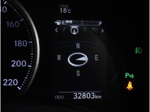 CT200h Fスポーツ 全国3年保証付 純正メモリーナビ フルセグ バックカメラ クルーズコントロール バックソナー パドルシフト パワーシート シートヒーター LEDライト オートライト 17AW(24枚目)