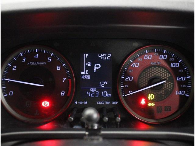 【マルチインフォメーションディスプレイ】外気温や様々な情報を表示します。トリップインフォメーション・シフトポジションなどを表示します。車両に異常が生じたときは警告メッセージを表示します。