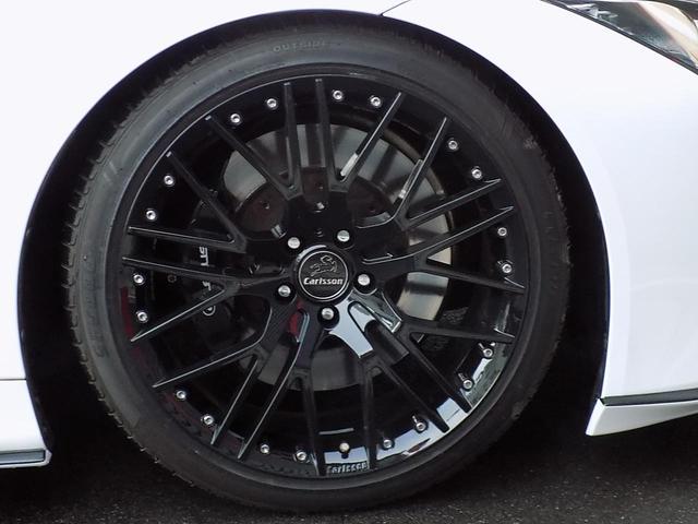 LC500 Sパッケージ OPマークレビンソン TRDエアロキット カールソン21inAW ワンオフマフラー RS-Rダウンサス アクティブRウイング カーボンルーフ 赤ハーフレザーシート セーフティシステム TVキット(14枚目)