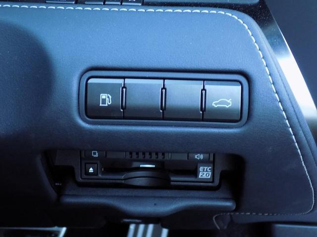 LC500 Sパッケージ OPマークレビンソン TRDエアロキット カールソン21inAW ワンオフマフラー RS-Rダウンサス アクティブRウイング カーボンルーフ 赤ハーフレザーシート セーフティシステム TVキット(19枚目)