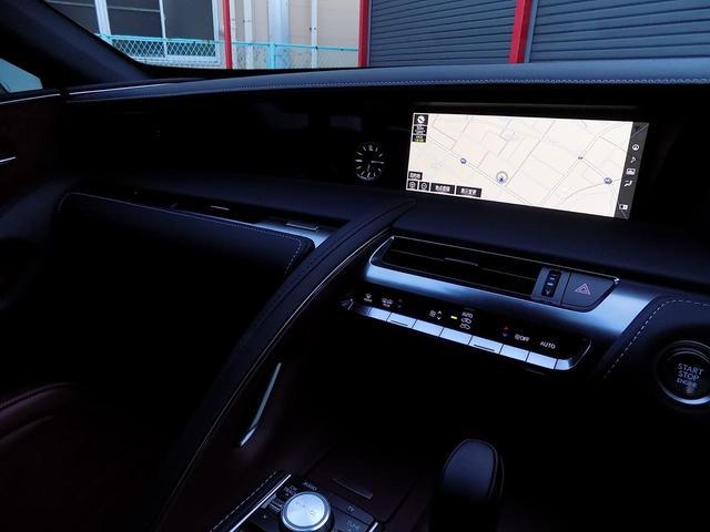 LC500 Sパッケージ OPマークレビンソン TRDエアロキット カールソン21inAW ワンオフマフラー RS-Rダウンサス アクティブRウイング カーボンルーフ 赤ハーフレザーシート セーフティシステム TVキット(20枚目)