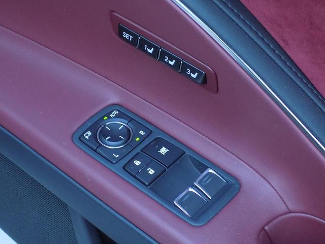 LC500 Sパッケージ OPマークレビンソン TRDエアロキット カールソン21inAW ワンオフマフラー RS-Rダウンサス アクティブRウイング カーボンルーフ 赤ハーフレザーシート セーフティシステム TVキット(30枚目)