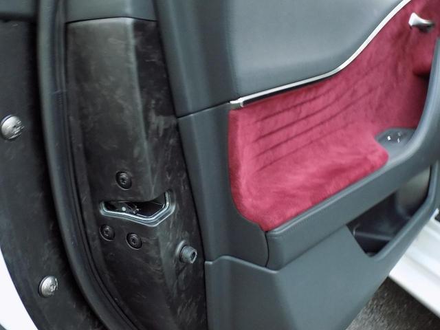 LC500 Sパッケージ OPマークレビンソン TRDエアロキット カールソン21inAW ワンオフマフラー RS-Rダウンサス アクティブRウイング カーボンルーフ 赤ハーフレザーシート セーフティシステム TVキット(32枚目)