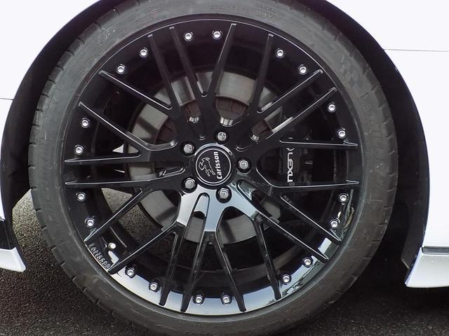 LC500 Sパッケージ OPマークレビンソン TRDエアロキット カールソン21inAW ワンオフマフラー RS-Rダウンサス アクティブRウイング カーボンルーフ 赤ハーフレザーシート セーフティシステム TVキット(38枚目)