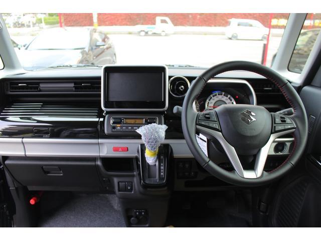 ハイブリッドXSターボ 届出済未使用車 デュアルカメラブレーキサポート 両側電動スライドドア  LEDヘッドライト シートヒーター パドルシフト スマートキー パークセンサー アダプティブクルーズコントロール 15inAW(15枚目)