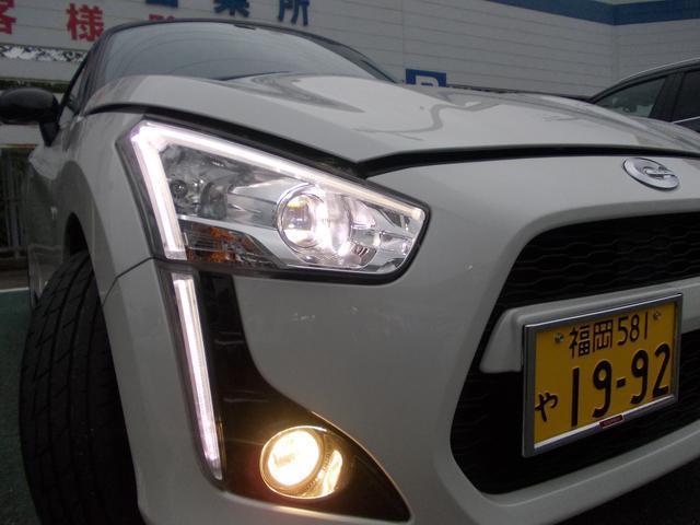 ヘッドライトはLEDになります!ポジションランプもかっこいいですね!