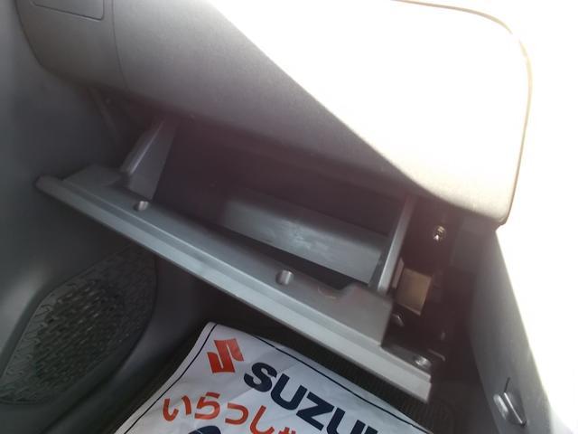 グローブボックスも、車検証入れにもちょうどいいですよ!