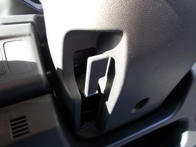 チルトステアリング機能は、ハンドルの高さを変えることができます!