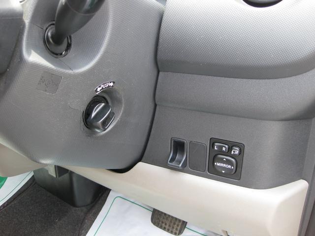 トヨタ パッソ G Fパッケージ スマートキー 純正ドアバイザー