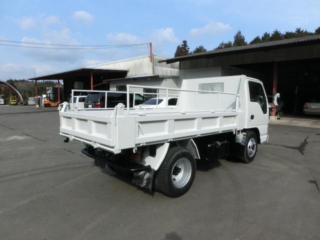 いすゞ エルフトラック 2tダンプ 高床