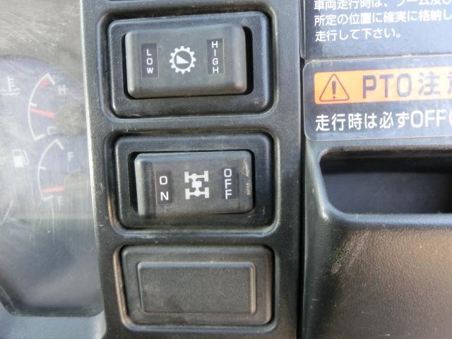三菱ふそう キャンター 2tクレーン付 4WD