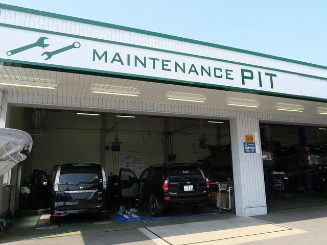 最新のPIT&設備をご用意しております。ご購入後のアフターサービスもお任せ下さい
