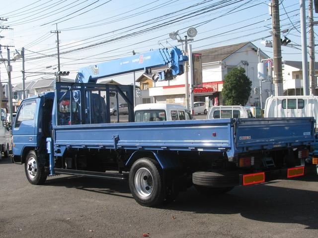 マツダ タイタントラック 3.5t超ロング タダノ4段クレーン ラジコン フックイン