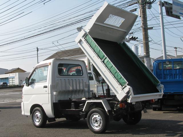 4WD・ダンプ・フロア5速MT・エアコン・パワステ付