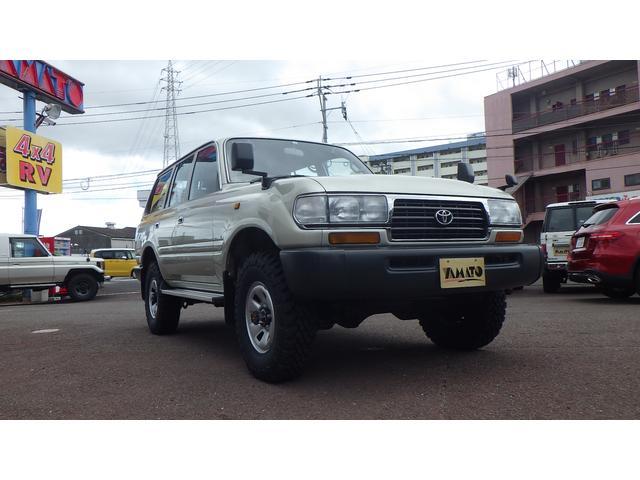 「トヨタ」「ランドクルーザー80」「SUV・クロカン」「大分県」の中古車3