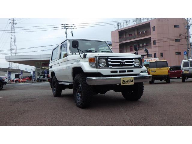 「トヨタ」「ランドクルーザー70」「SUV・クロカン」「大分県」の中古車4