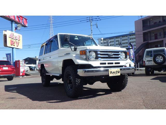 「トヨタ」「ランドクルーザー70」「SUV・クロカン」「大分県」の中古車3