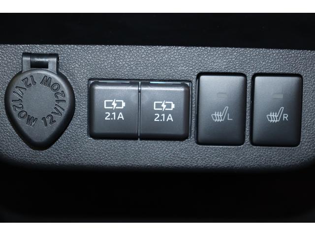 USB電源ソケット、シートヒータースイッチ
