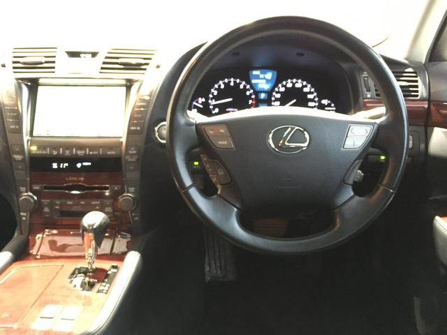 レクサス LS LS460 純正マルチナビ DVD CD MD  黒革シート