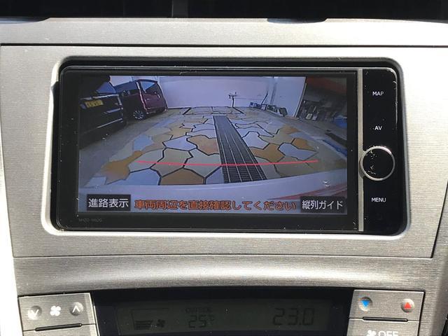 トヨタ プリウス S 純正HDDナビ DVD CD 地デジ プッシュスタート