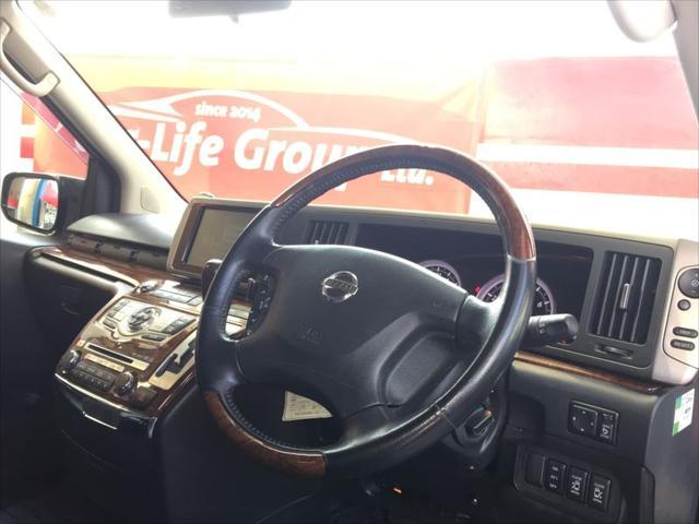 日産 エルグランド 250ハイウェイSブラックレザーナビED-V FU1504