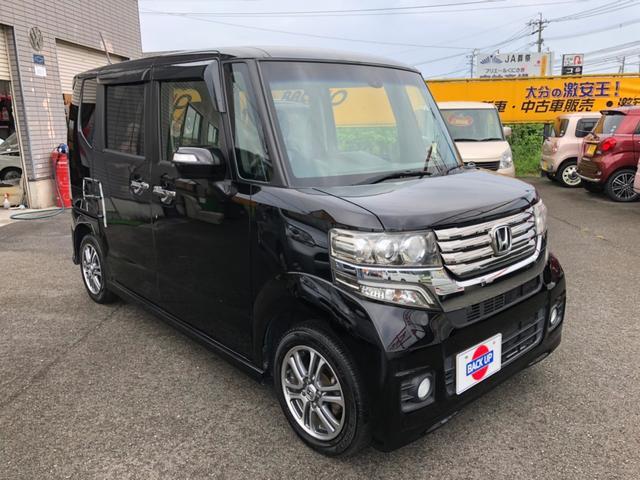 「ホンダ」「N-BOXカスタム」「コンパクトカー」「大分県」の中古車4