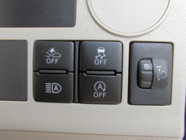 各種操作スイッチが運転席右側にまとめてあり、操作も簡単!