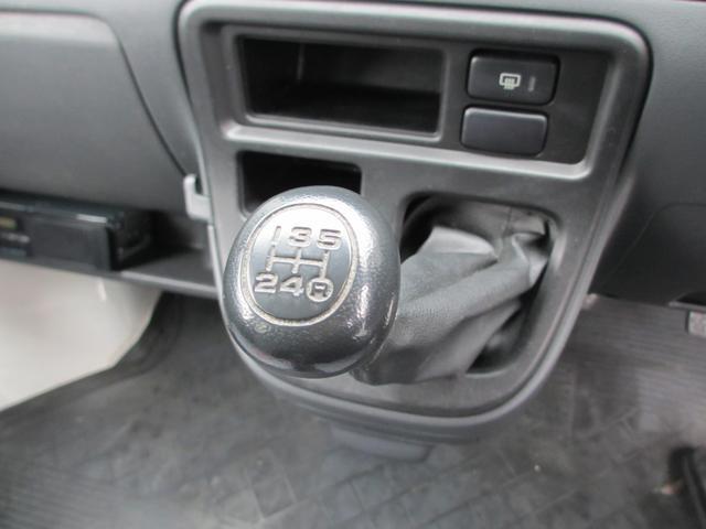 ダイハツ ハイゼットカーゴ DX  4ナンバー車 5速MT キーレス ダブルエアバッグ