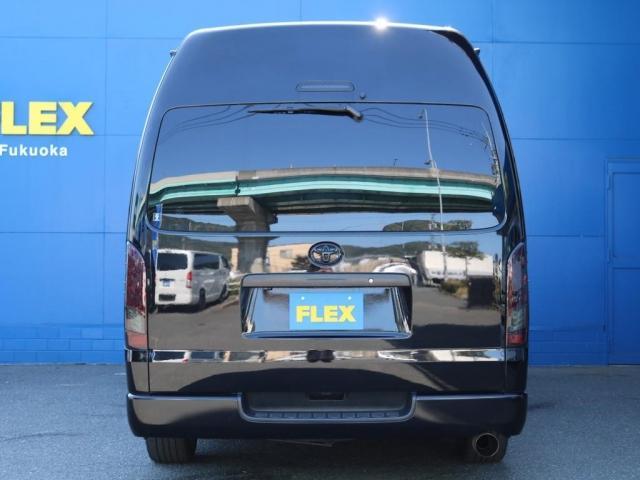 SロングワイドDX 202ブラック リアヒーター リアクーラー 100Vコンセント 助手席エアバック LEDテールランプ アルミホイル ローダウン フロントスポイラー LEDヘッドランプ グリル塗装 フロントスポイラー(10枚目)