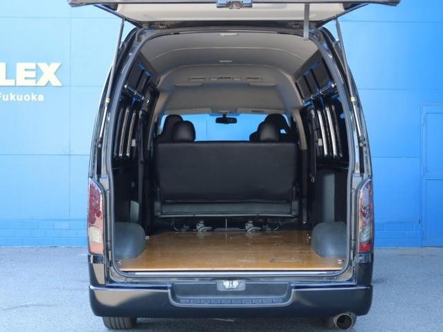 SロングワイドDX 202ブラック リアヒーター リアクーラー 100Vコンセント 助手席エアバック LEDテールランプ アルミホイル ローダウン フロントスポイラー LEDヘッドランプ グリル塗装 フロントスポイラー(11枚目)