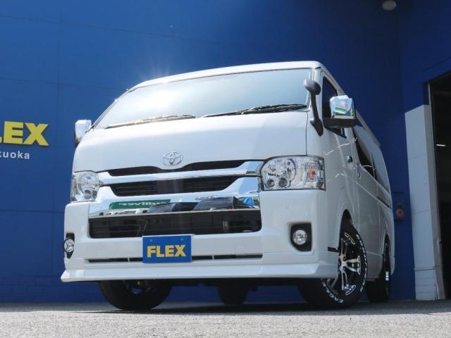 GL ロング FLEXオリジナルシートアレンジAS ベンチシート逆向き対座フルフラット車中泊対応カスタム10人乗りワゴン  アルティメットオーバーフェンダー パワースライドドア  DELF02 17インチホイル(4枚目)