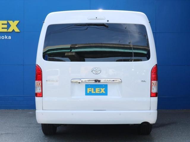 GL ロング FLEXオリジナルシートアレンジAS ベンチシート逆向き対座フルフラット車中泊対応カスタム10人乗りワゴン  アルティメットオーバーフェンダー パワースライドドア  DELF02 17インチホイル(7枚目)