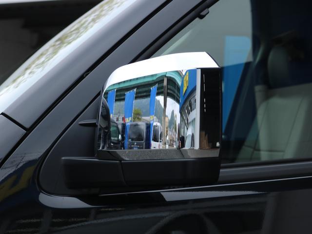 ロングDX GLパッケージ FLEXキャンピングカーNH TYPEII 車中泊 走行充電システム サブバッテリー カーテン フロントスポイラー 上開き式冷蔵冷凍庫40L 間接照明ダウンライト  アーバングランデ17インチAW(25枚目)