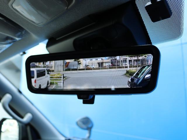 ロングDX GLパッケージ FLEXキャンピングカーNH TYPEII 車中泊 走行充電システム サブバッテリー カーテン フロントスポイラー 上開き式冷蔵冷凍庫40L 間接照明ダウンライト  アーバングランデ17インチAW(31枚目)